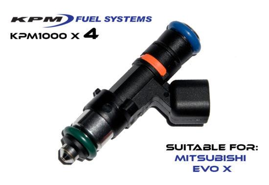 1000cc Injectors Mitsubishi Evo X