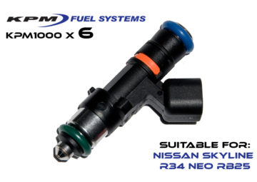 1000cc Injectors R34 Skyline