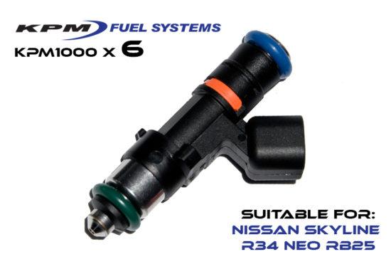 1000cc Injectors R34 Skyline