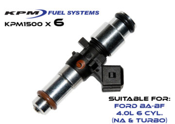 1500cc Injectors Ford BF Turbo