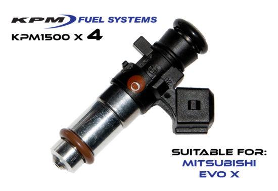 1500cc Injectors Mitsubishi Evo X