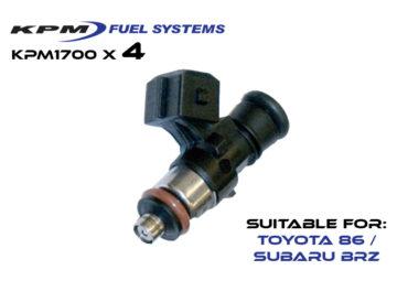 1700cc Injectors Toyota 86