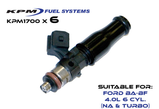 1700cc Injectors Ford BF Turbo