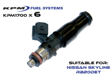 1700cc Injectors R32 Skyline