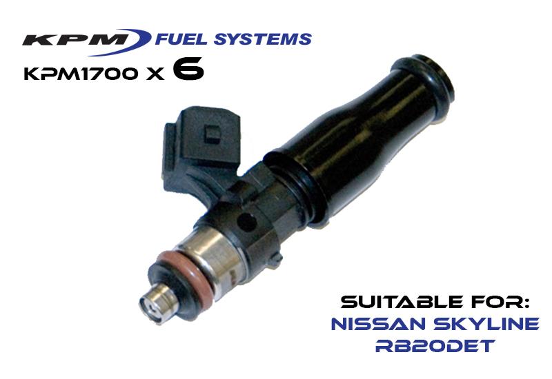 KPM1700L-6-NIS / Nissan Skyline RB20DET 89-94