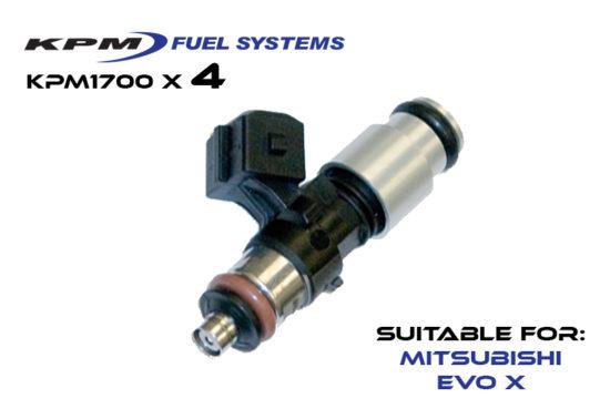 1700cc Injectors Mitsubishi Evo X