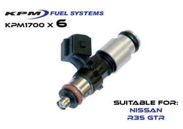 1700cc Injectors R35 GTR