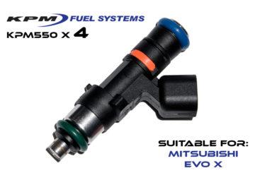 550cc Injectors Mitsubishi Evo X
