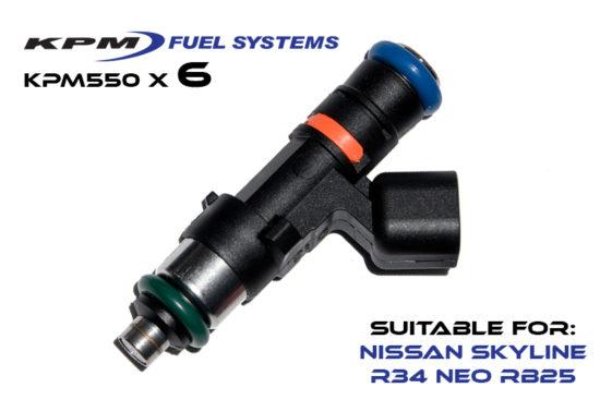 550cc Injectors R34 Skyline