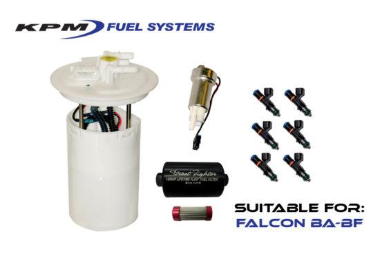 700hp BA 6 cylinder Fuel System