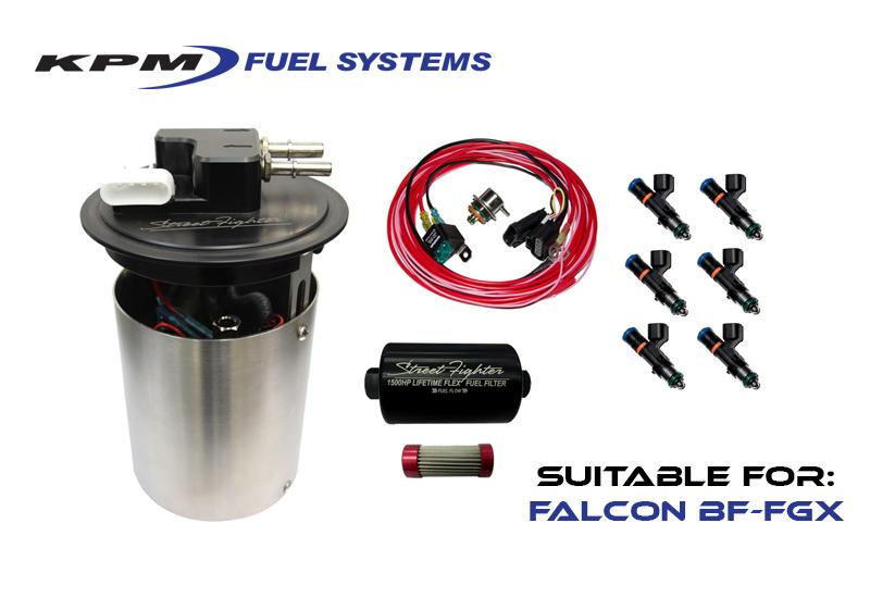 BF MK2-FGX XR6T 1000HP Flex Fuel Kit